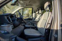 Ford Tourneo Custom - przednie fotele
