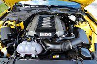 Ford Mustang GT - silnik