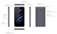 Smartfon Gigaset GS80 - wymiary