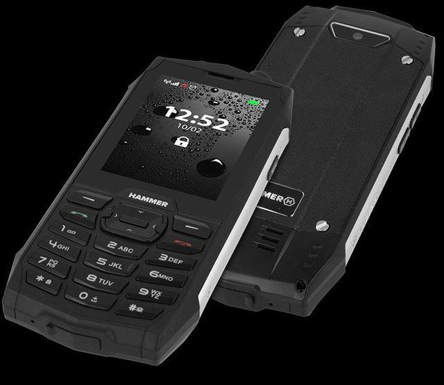 Telefony pancerne HAMMER 4+ i Active 2