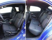 Honda Civic 1.8 i-VTEC Sport - tylne i przednie fotele