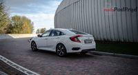Honda Civic sedan 1.5 Turbo Elegance - z tyłu i boku