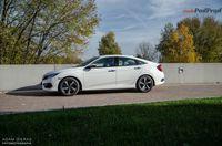 Honda Civic sedan 1.5 Turbo Elegance - bok