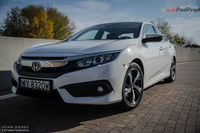 Honda Civic sedan 1.5 Turbo Elegance - reprezentacyjny kompakt