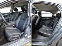 Honda Civic 4D - fotele