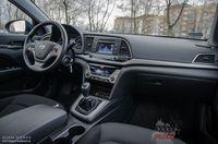 Hyundai Elantra 1.6 128 KM - wnętrze