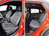 Hyundai Kona 1.0 T-GDI Premium - fotele i tylna kanapa
