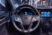 Hyundai Santa Fe 2.2 CRDi 200 KM - kierownica