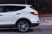 Hyundai Santa Fe 2.2 CRDi 200 KM - tył, koło