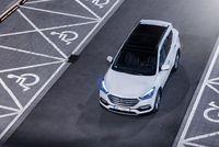 Hyundai Santa Fe 2.2 CRDi 200 KM - z góry