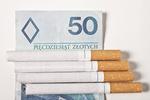Tytoń i papierosy: akcyza rośnie, dochody spadają