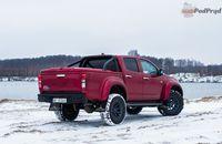 Isuzu D-Max Arctic Truck - z tyłu