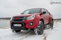 Isuzu D-Max Arctic Truck - z przodu