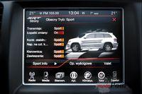 Jeep Grand Cherokee SRT - ekran