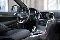 Jeep Grand Cherokee SRT - wnętrze