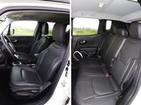 Jeep Renegade 2.0 Multijet 4x4 Limited - fotele