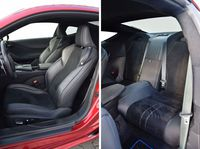 Lexus LC 500h Superturismo - fotele i tylna kanapa