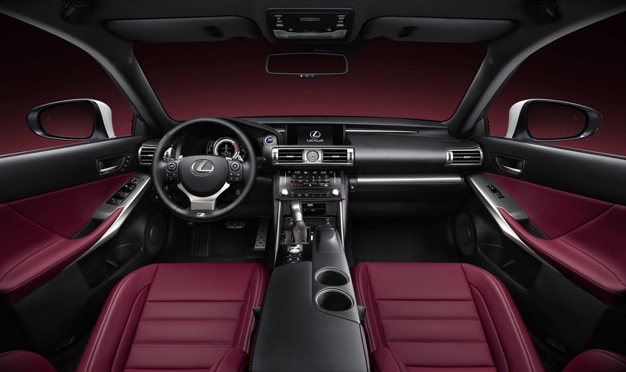 Lexus is 300h f sport aktualno ci motoryzacyjne for Lexus is350 f sport red interior