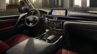 Lexus LX - wnętrze