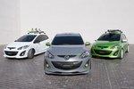 Mazda 2 Concept w trzech wersjach