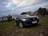 Mazda 6 2.2 SKYACTIV-D SkyPASSION - widok z przodu i boku