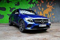 Mercedes-AMG GLC 43 4MATIC Coupe - z przodu