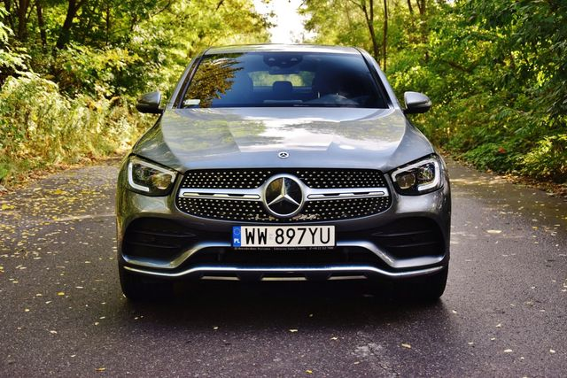 Mercedes-Benz GLC Coupe 300 d 4MATIC. SUV w stylu coupe