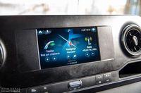 Mercedes Benz Sprinter 316 CDI - ekran