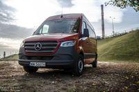 Mercedes Benz Sprinter 316 CDI - dostawczakiem w XXI wiek