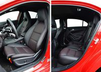 Mercedes-Benz A 220 4MATIC - fotele