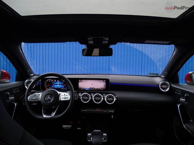 Mercedes-Benz A200 - hej, Mercedes!