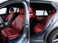 Mercedes-Benz C 220 d 9G-Tronic 4MATIC - fotele
