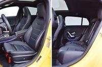 Mercedes-Benz CLA 200 Shooting Brake - fotele