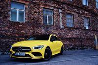 Mercedes-Benz CLA 200 Shooting Brake - z przodu