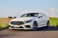 Mercedes-Benz CLS 400 d 4MATIC - z przodu