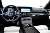 Mercedes-Benz E 400 4MATIC Coupe - wnętrze