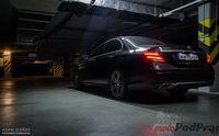 Mercedes Benz E220d 9G-Tronic - z tyłu