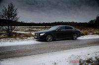 Mercedes Benz E220d 9G-Tronic - z przodu i boku