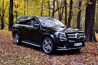 Mercedes-Benz GLS 500 4MATIC - z przodu
