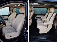 Mercedes-Benz V 250 d 7G-Tronic Exclusive - fotele