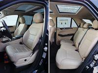 Mercedes-Benz GLE 350 d 4MATIC - fotele