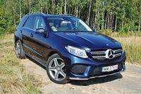 Mercedes-Benz GLE 350 d 4MATIC - z przodu