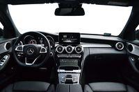 Mercedes C 180 7G-Tronic - wnętrze