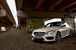 Mercedes C250 BlueTec - nieziemski tylko z zewnątrz