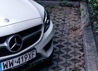 Mercedes C250 Coupe - przód