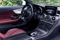 Mercedes C250 Coupe - wnętrze