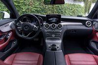 Mercedes C250 Coupe - wnętrze, fot.2