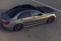 Mercedes C450 AMG - z góry