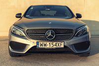 Mercedes C450 AMG - przód