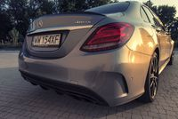 Mercedes C450 AMG - tył